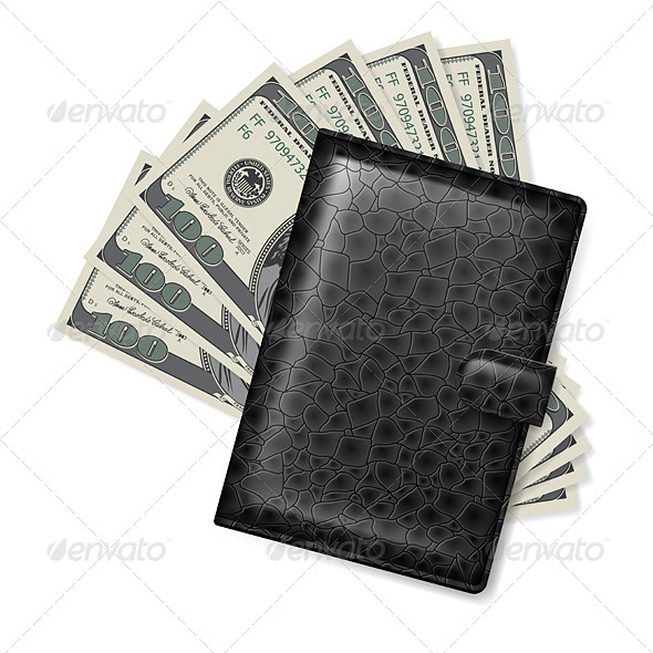 GraphicRiver Leather Wallet 5042560