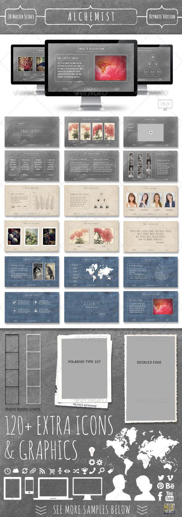 GraphicRiver Alchemist Keynote Presentation Template 5042742