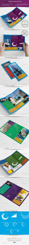 GraphicRiver Colorful Brochure 5042744