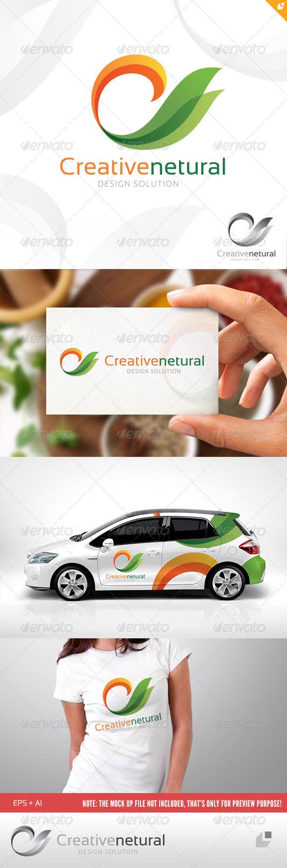 GraphicRiver Creative Natural Logo 5043086