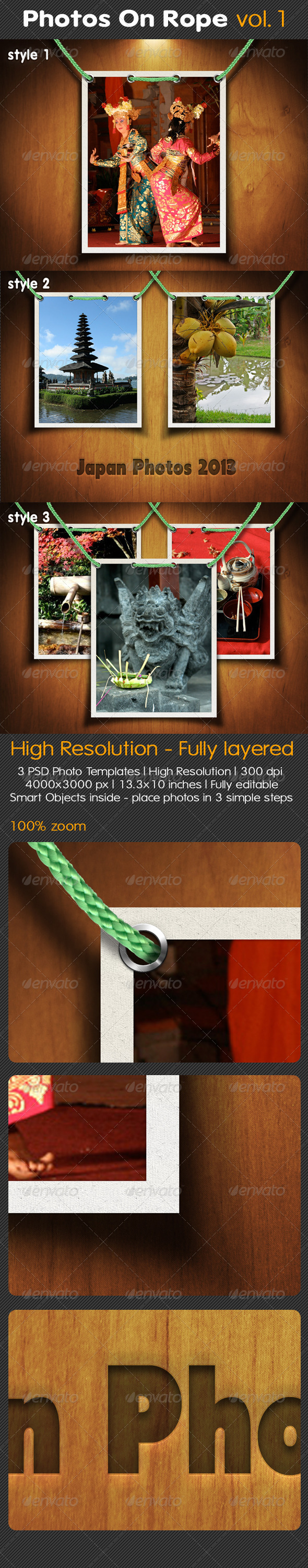 GraphicRiver Photos On Rope Vol.1 5043205
