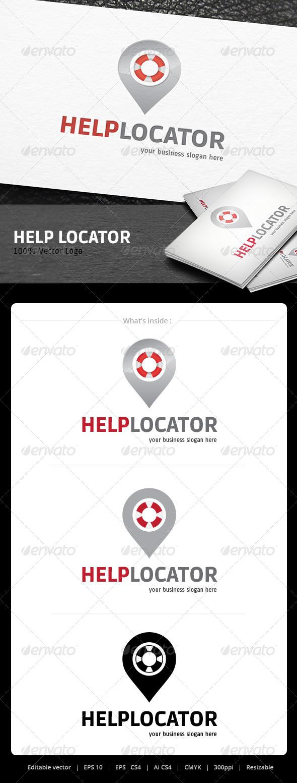 Help Locator logo