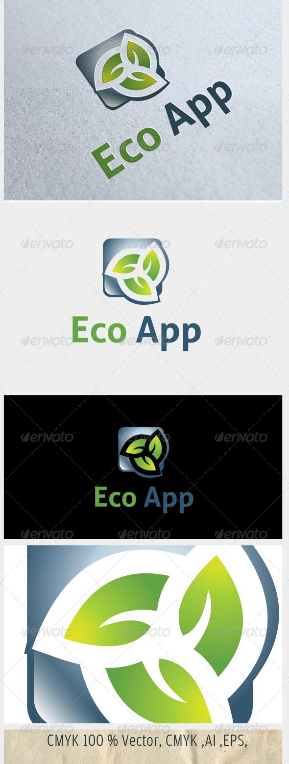 GraphicRiver Eco App 5019778