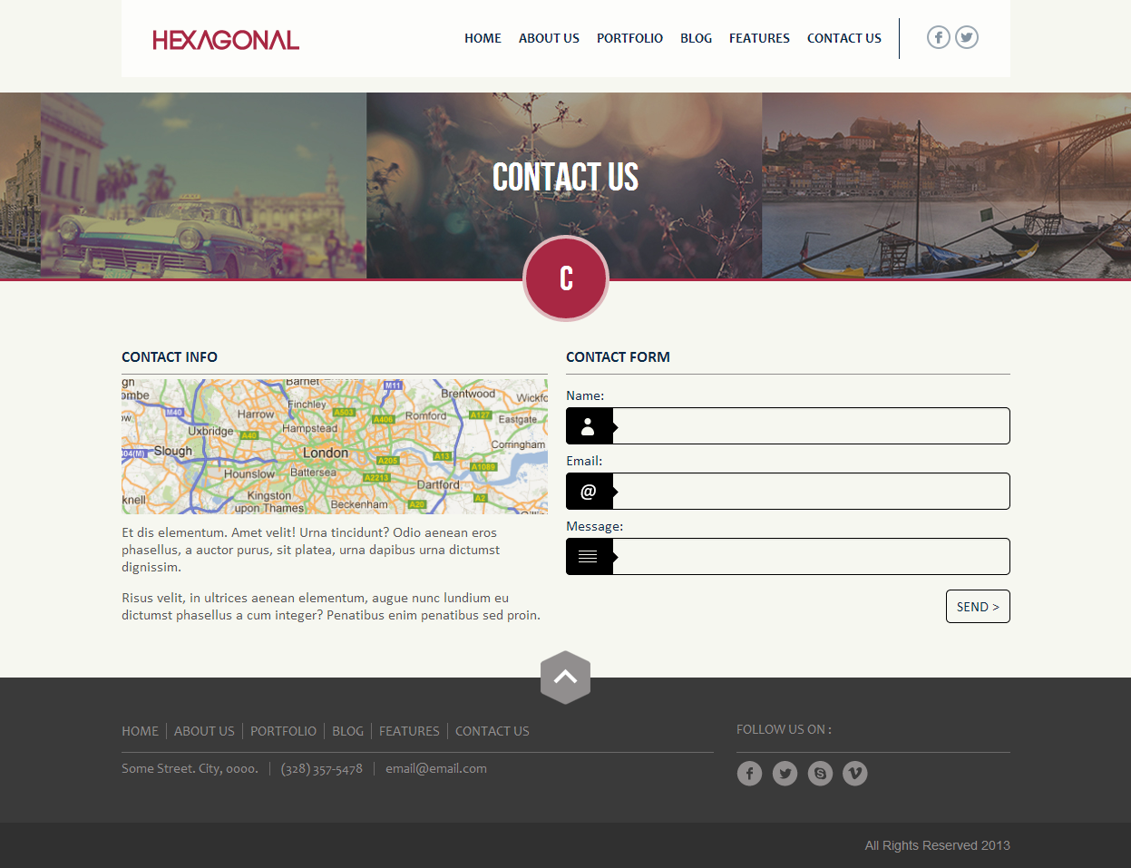 Hexagonal - Clean Multipurpose Responsive WP Theme