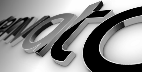 After Effects Project - VideoHive Black Classic 3D Logo 519447