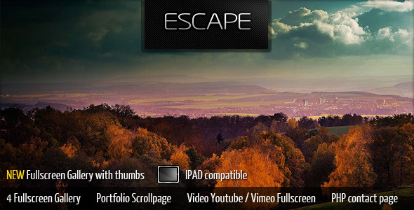 Escape Portfolio Gallery