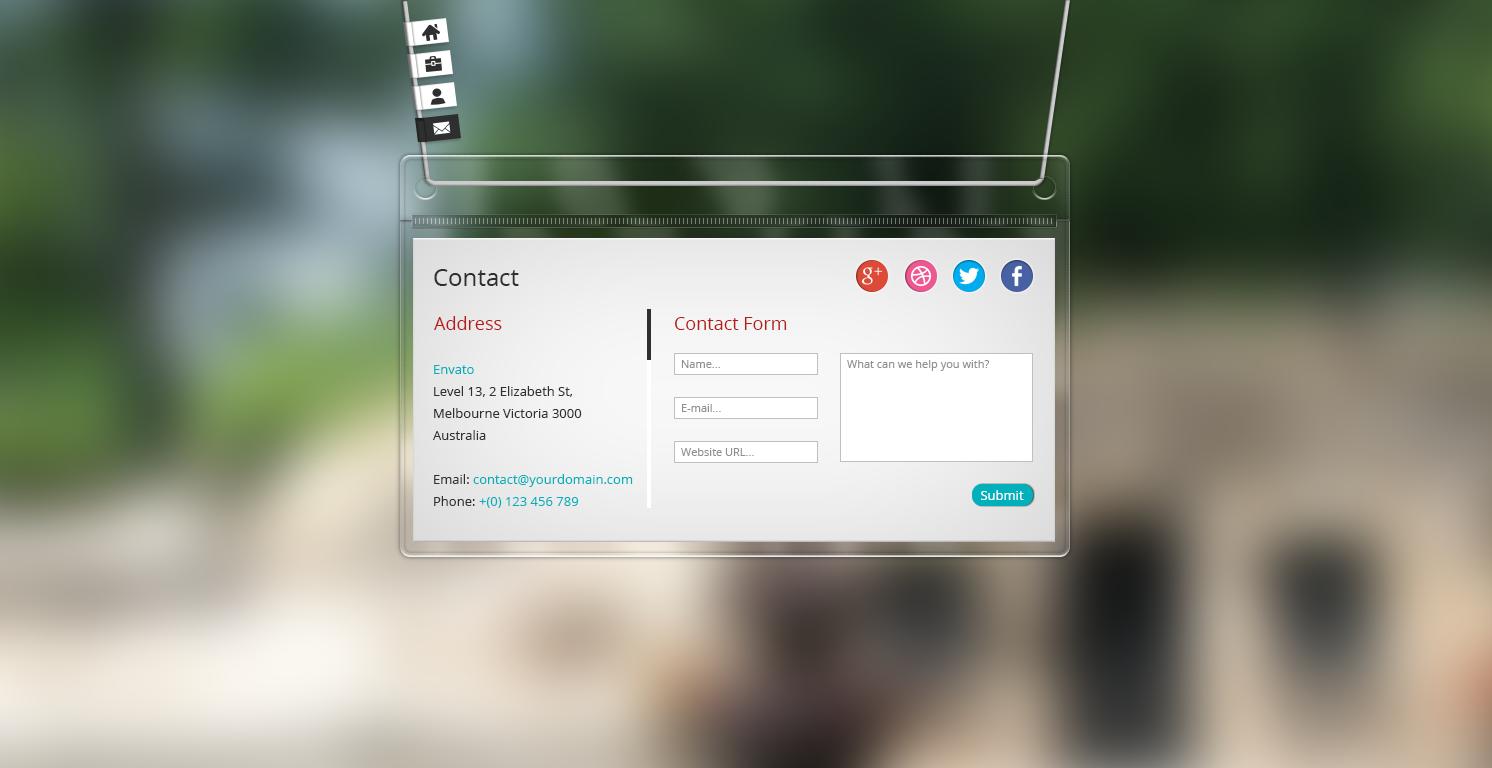 vPlastic - HTML vCard