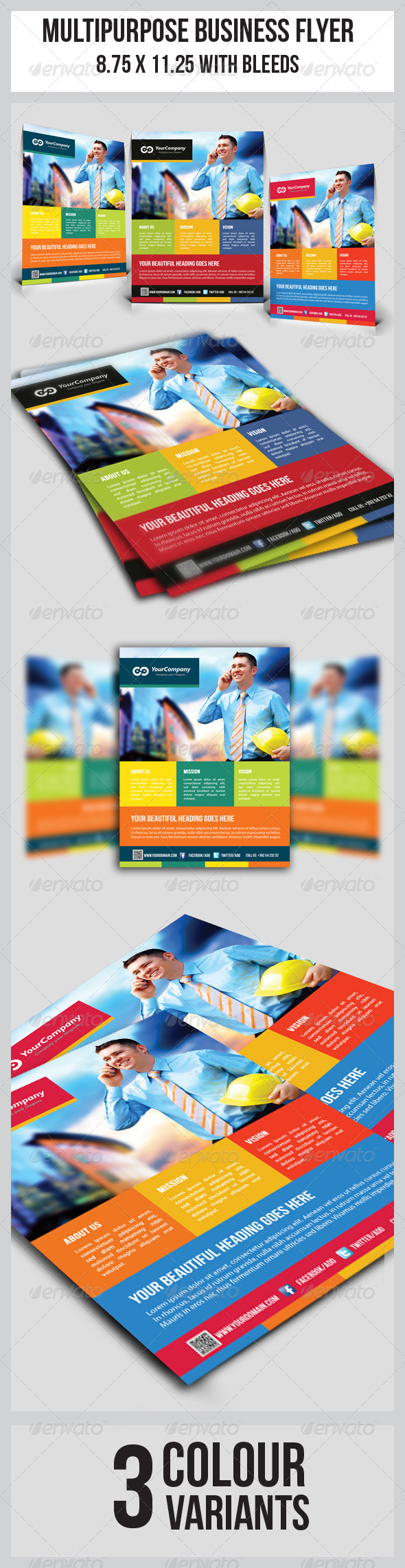 GraphicRiver Multipurpose Business Flyer 5046016