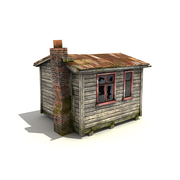 3DOcean Small Wooden Building 5046026
