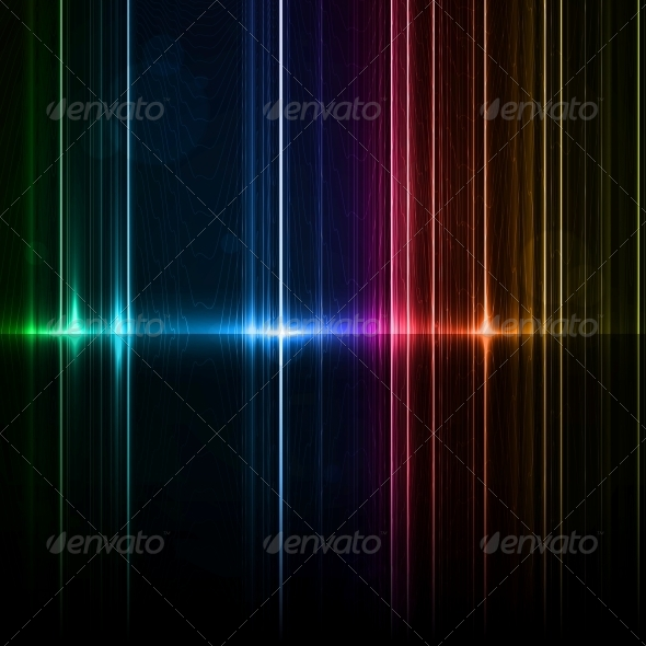 GraphicRiver Neon Abstract 5046222