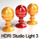 HDRi Studio Light 3 - Striped Softboxes - 3DOcean Item for Sale