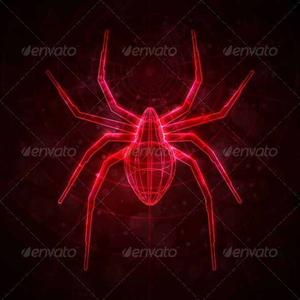 GraphicRiver Abstract Spider 5046283