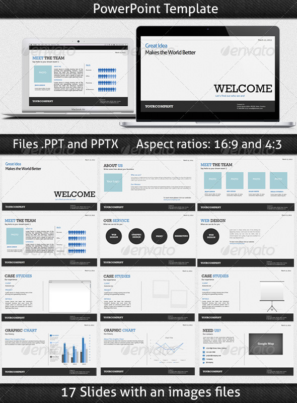 GraphicRiver Company PowerPoint Presentation 5046490