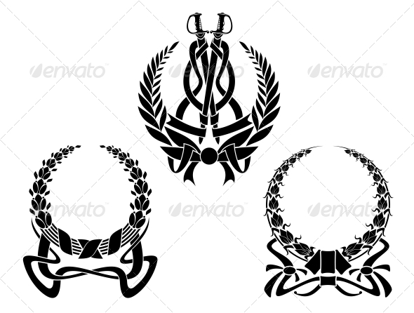 GraphicRiver Coats of Arms with Embellishments 5046522