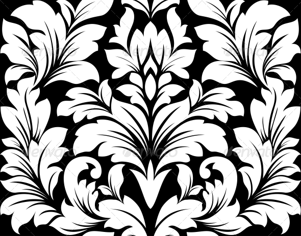 GraphicRiver Damask Seamless Pattern 5046533