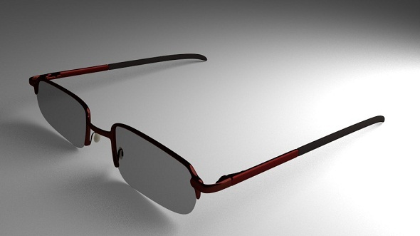 Eye Glasses Version 3 (High-Poly) - 3DOcean Item for Sale