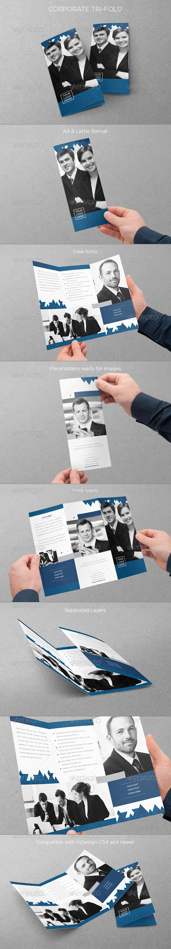 GraphicRiver Corporate Tri-Fold 5046652