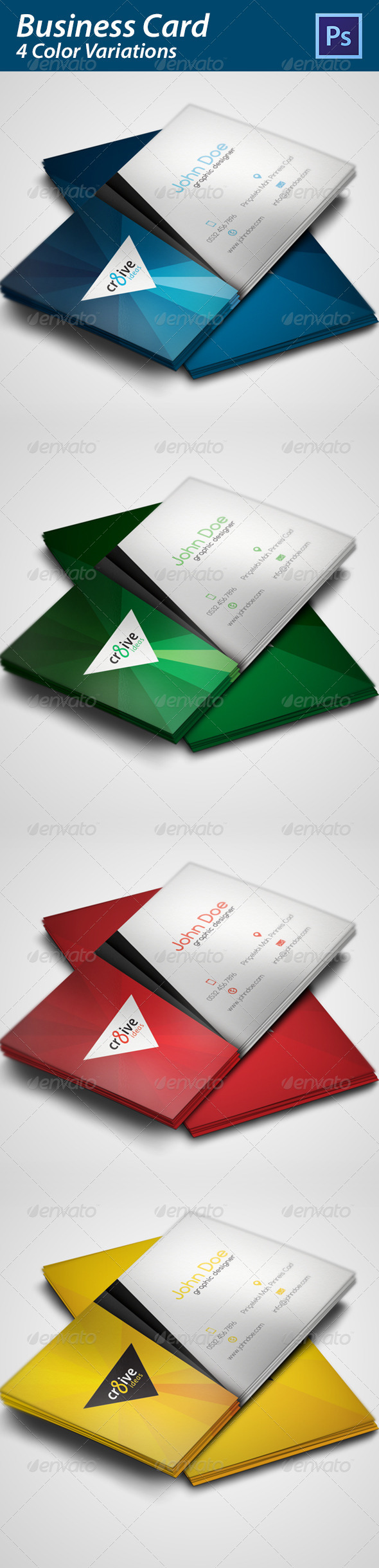GraphicRiver Business Card 4972643