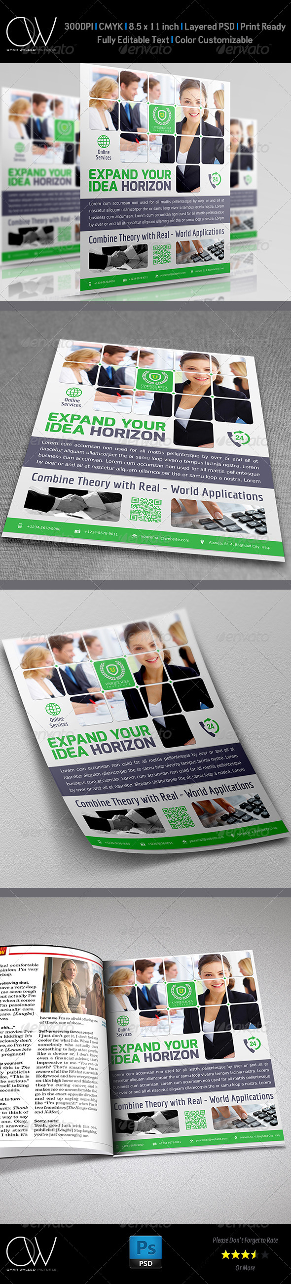 GraphicRiver Corporate Business Flyer Vol.8 4993145