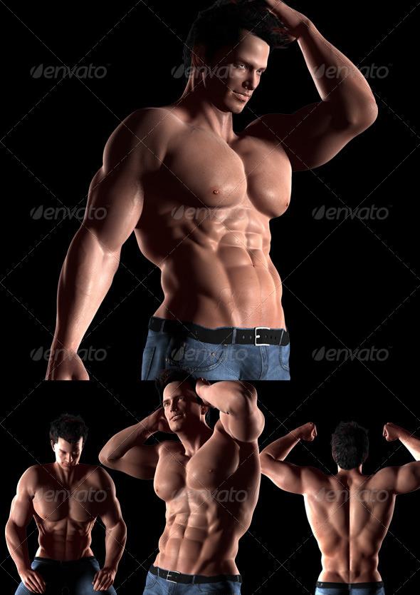 GraphicRiver a Man s Body 5022874