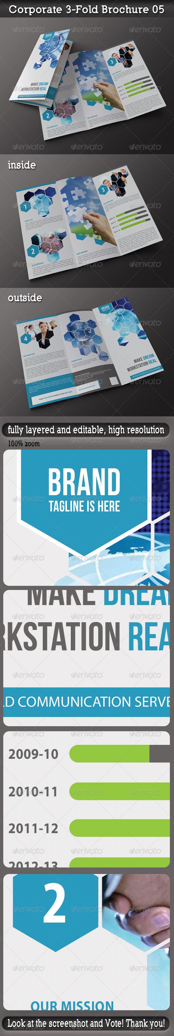 Corporate 3-Fold Brochure 05 - Corporate Brochures