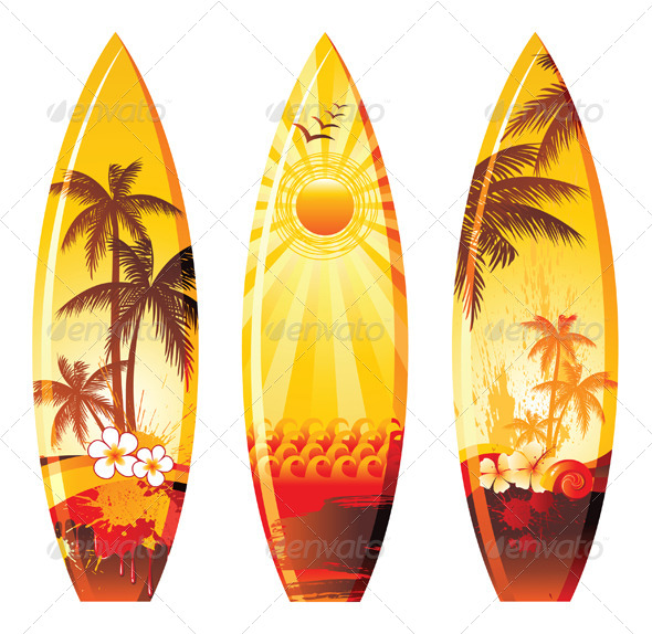 GraphicRiver Surf Boards 5050583