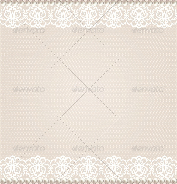 GraphicRiver Lace Floral Border 5052171