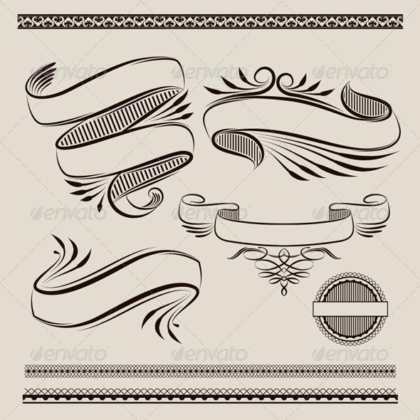 GraphicRiver Ribbon Swirl 5052322