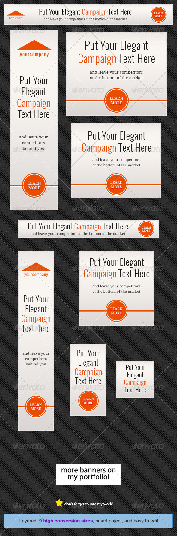GraphicRiver Elegant Web Banner Design 5052362