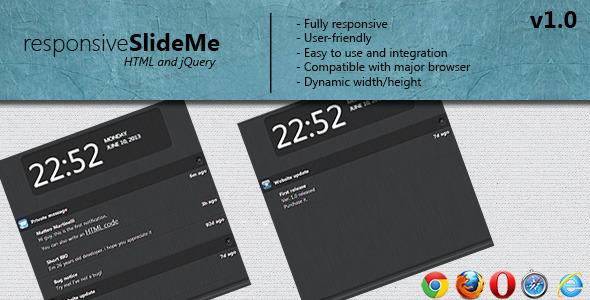 CodeCanyon responsive SlideMe notifications 4936790