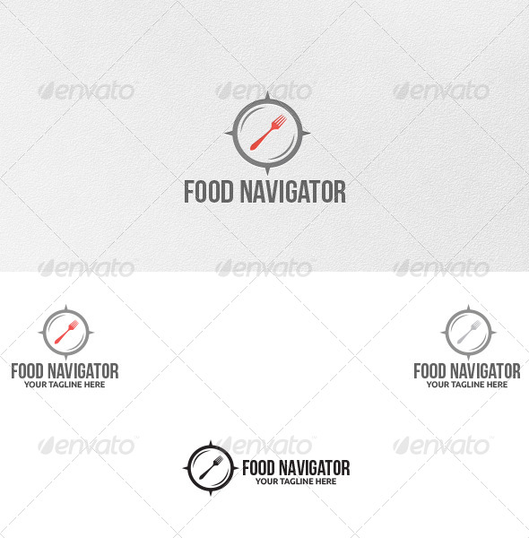 GraphicRiver Food Navigator Logo Template 5052601