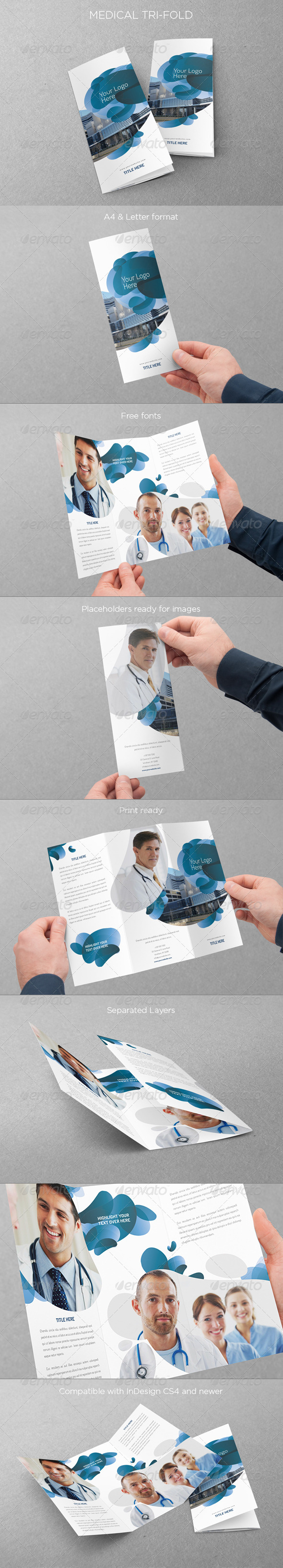 GraphicRiver Medical Trifold 5052674