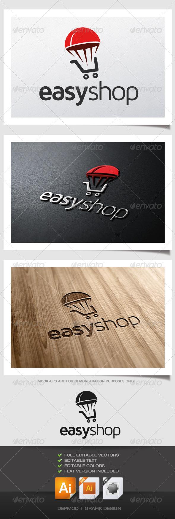 GraphicRiver Easy Shop Logo 5052777