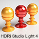 HDRi Studio Light 4 - Squared Softboxes