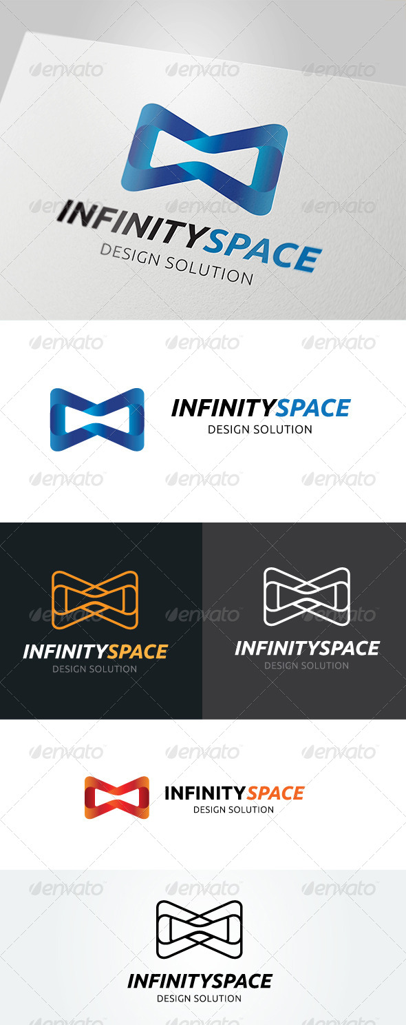 GraphicRiver Infinity Space Logo 5053104