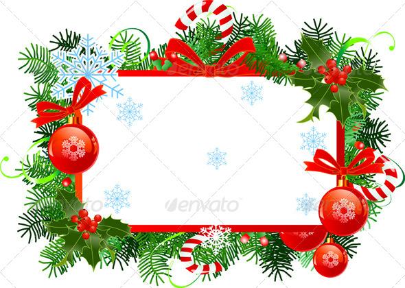 GraphicRiver Christmas Frame 5053239