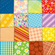 Quilt Patchwork Texture. Seamless Vector Pattern - GraphicRiver Item for Sale