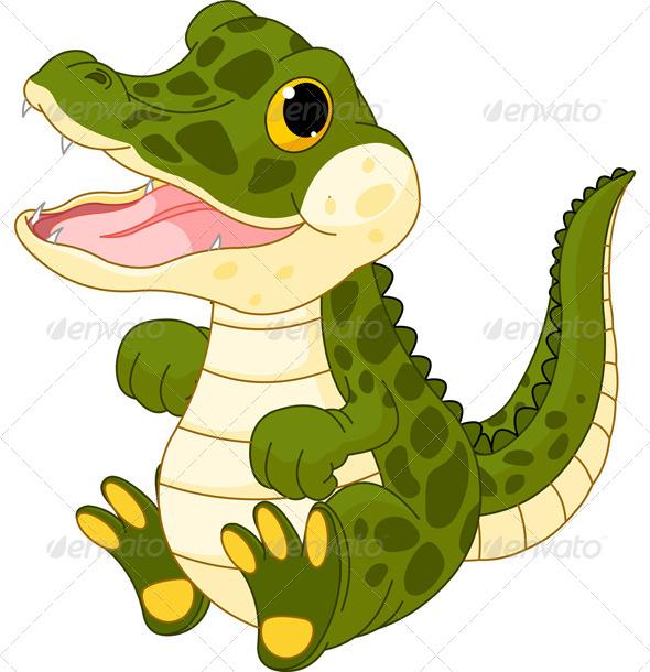GraphicRiver Baby Crocodile 5053371