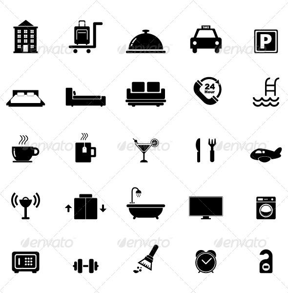 GraphicRiver Hotel Icon 5053477