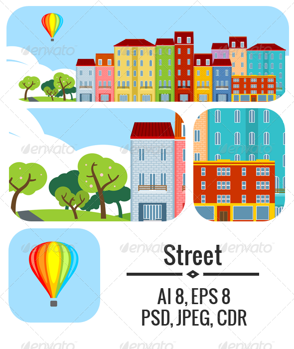 GraphicRiver Small Town 5054310