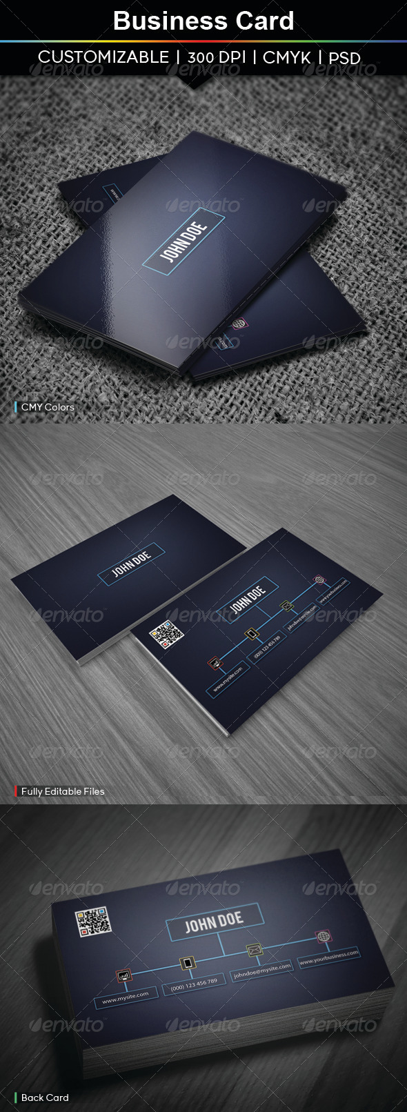 GraphicRiver Business Card 3887485