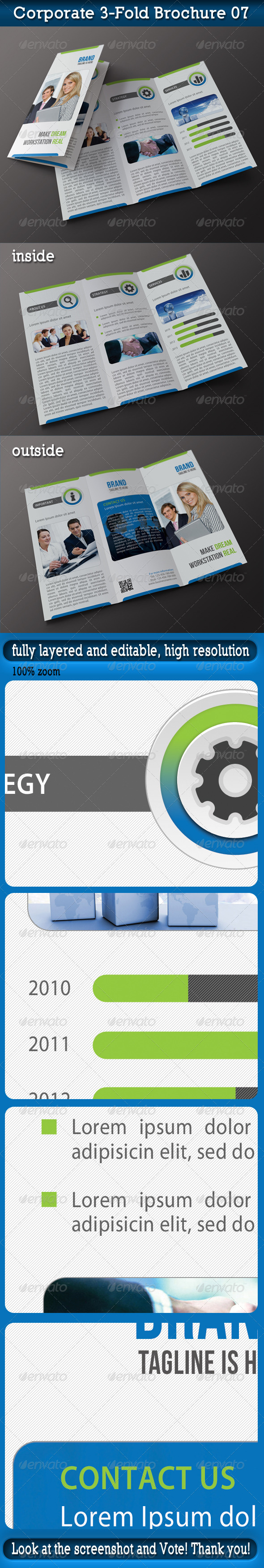 Corporate 3-Fold Brochure 07 - Corporate Brochures