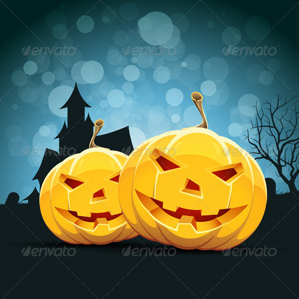 GraphicRiver Halloween Background 5054950