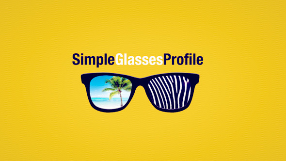 Simple Glasses Profile