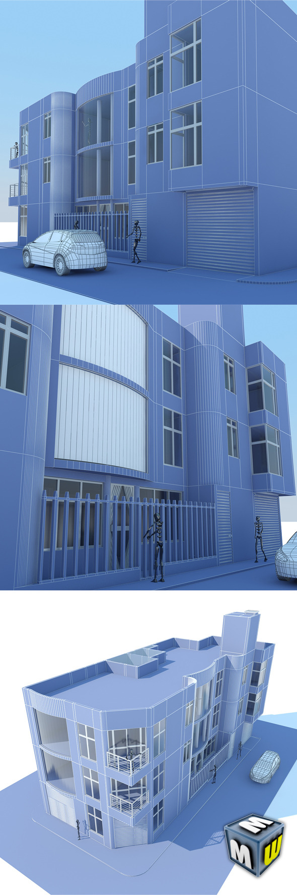 House and Commerce Max 2011 - 3DOcean Item for Sale