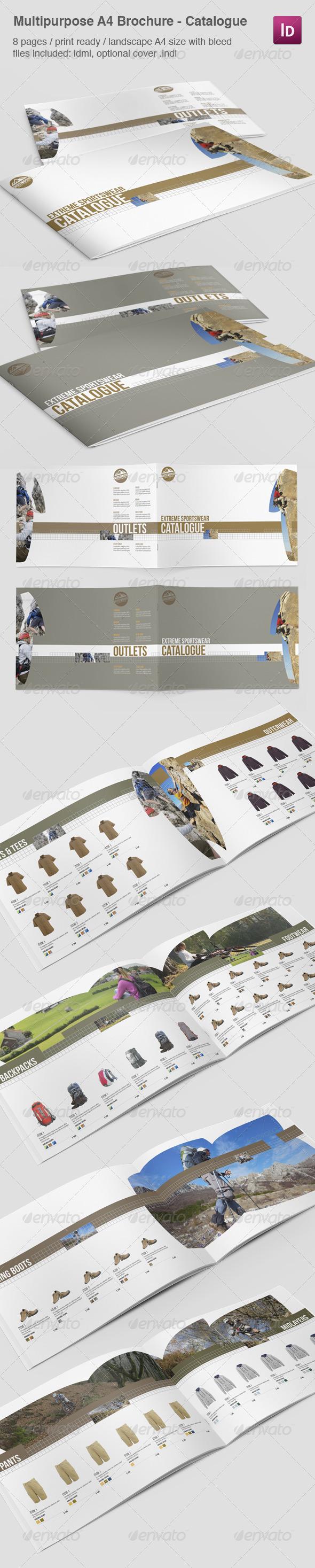 GraphicRiver Multipurpose A4 Brochure Catalogue 5056056