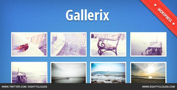 Gallerix- Best WordPress Responsive Gallery Plugin
