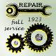 Industrial Badges Set - GraphicRiver Item for Sale