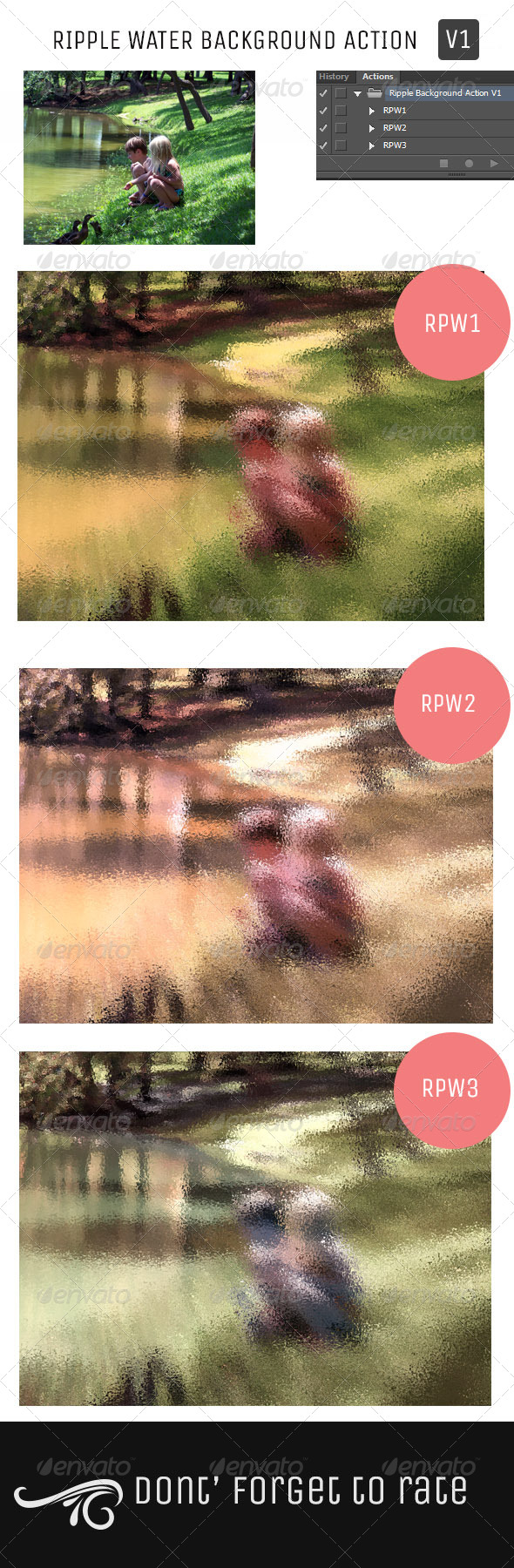 GraphicRiver Ripple Water Background Action Set V1 5056181