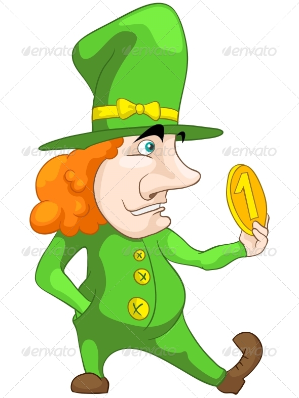 GraphicRiver Leprechaun 5056425